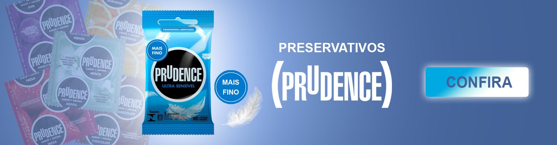 Preservativos prudence compre ja o seu!