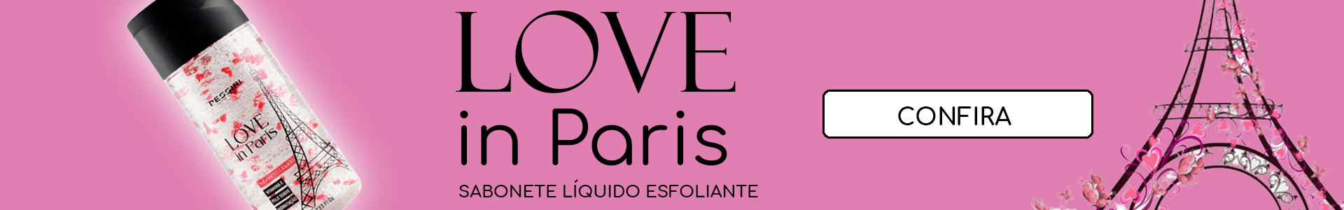 Sabonete liquido Love in Paris